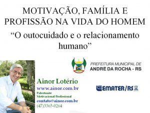 Ainor Lotério - André da Rocha RS