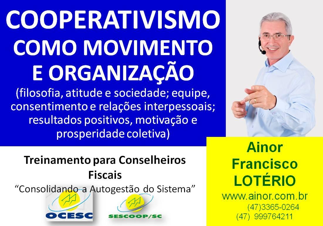 Curso de Cooperativismo para Conselheiros Fiscais (Palhoça – SC)