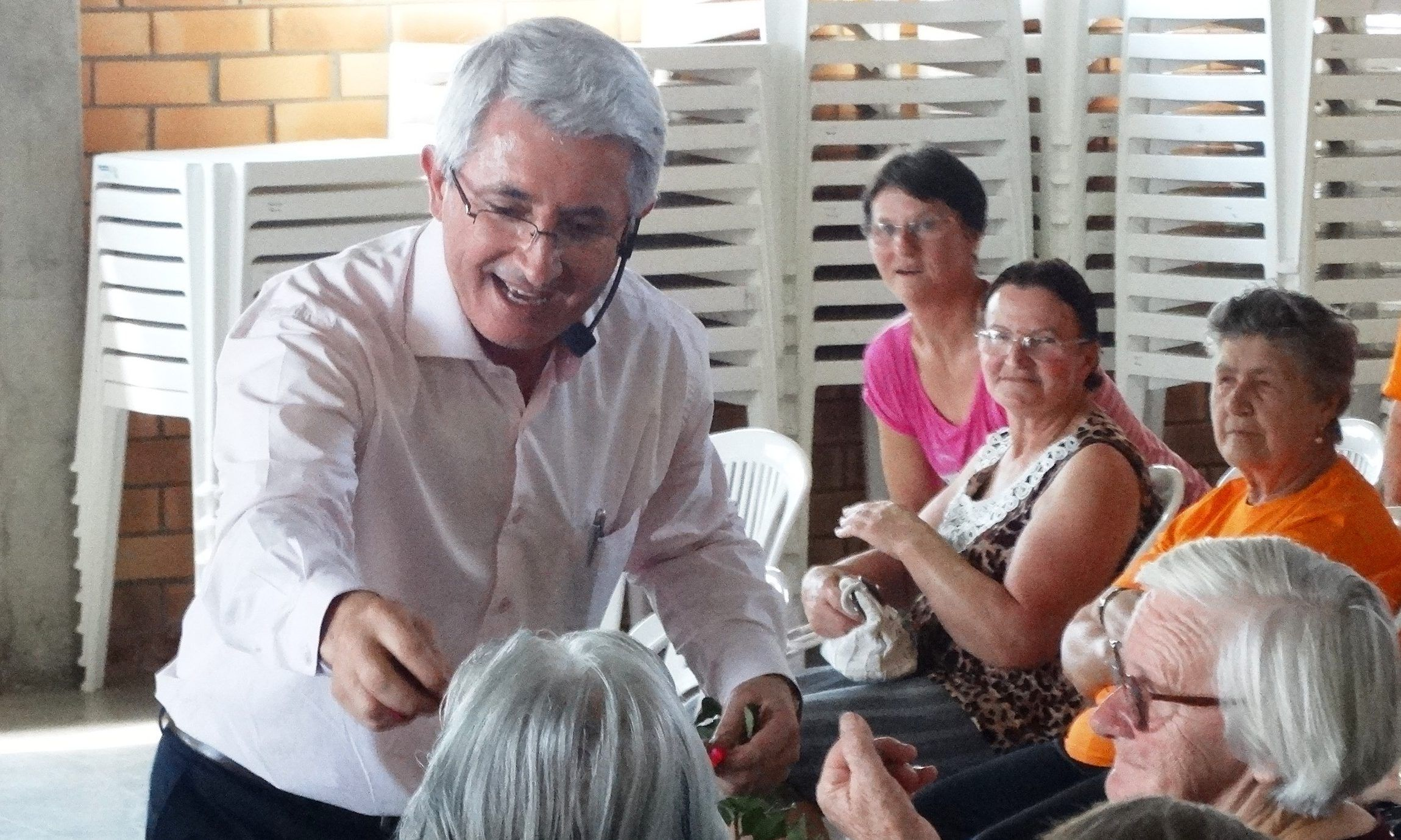 Palestra Motivacional Para Idosos Ainor Francisco Lotério