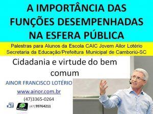 Ainor Lotério - CAIC Camboriú SC