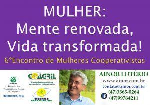 Ainor Lotério - Mulheres Cooperativistas - Chapada
