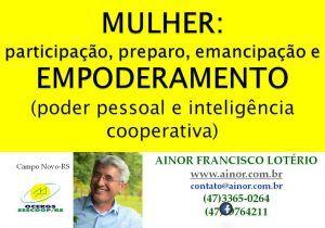 Ainor Lote´rio - Campo Novo RS - Mulheres