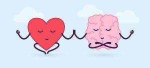 imagem para representar o equilíbrio entre o coração e o intelecto